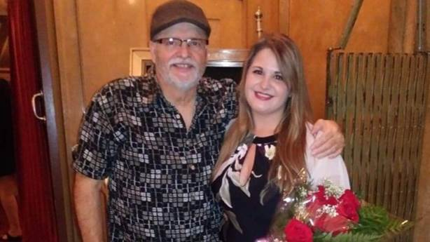 <p>Mark was released from hospital in time to attend the ceremony where Robin received her nursing pin.</p>