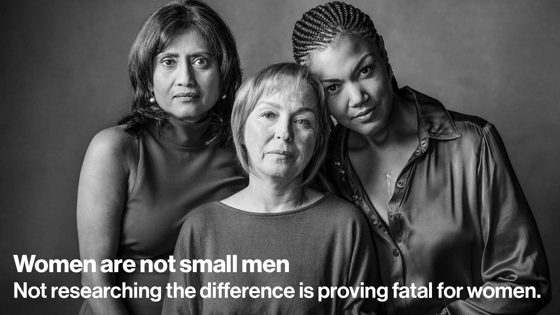Women are not small men. Not researching the difference is proving fatal for women.